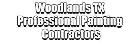 Woodlands TX Professional Painting Contractors Logo-We offer Residential & Commercial Painting, Interior Painting, Exterior Painting, Primer Painting, Industrial Painting, Professional Painters, Institutional Painters, and more.